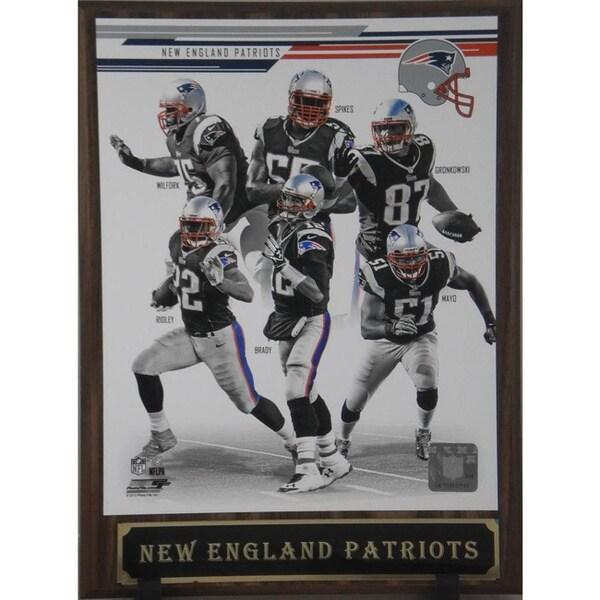 2013 New England Patriots Plaque