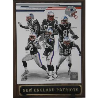 2013 New England Patriots Plaque