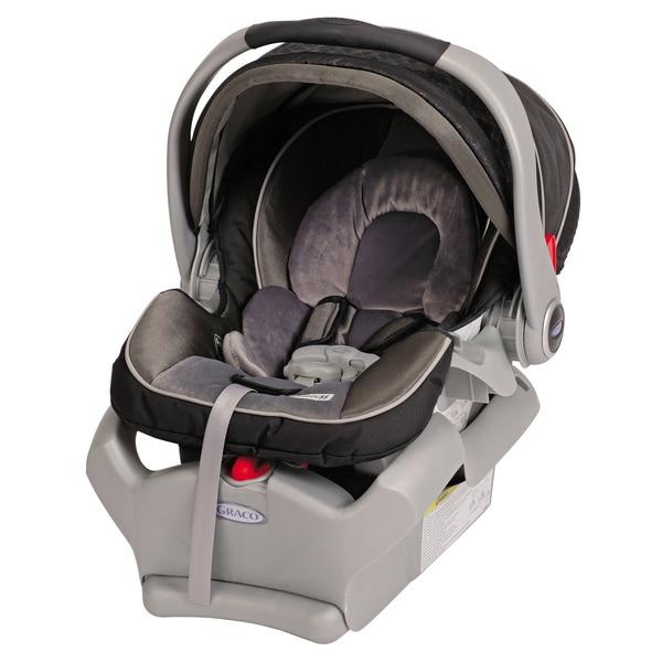 Graco Classic Connect SnugRide 35LX Infant Car Seat in Flint