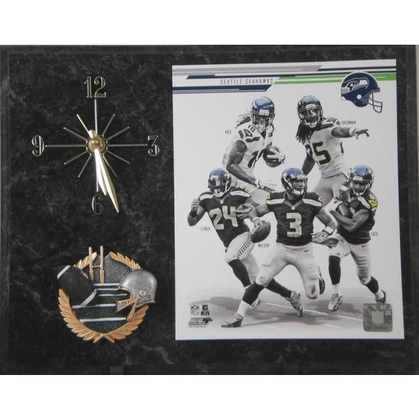 2013 Seattle Seahawks Clock