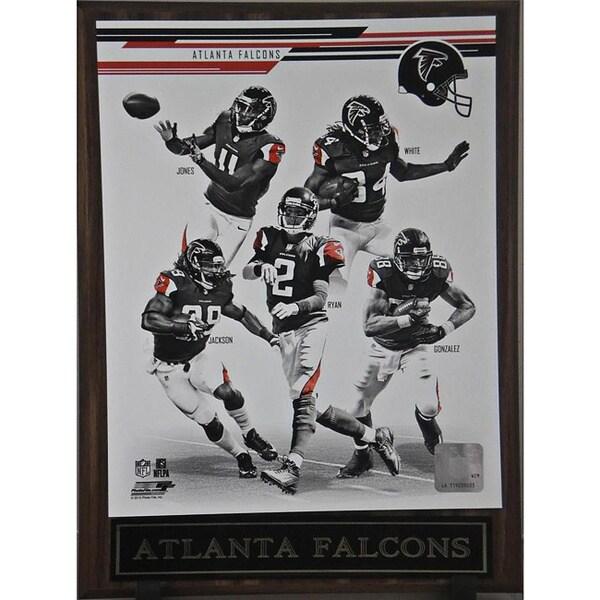 2013 Atlanta Falcons Plaque