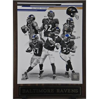 2013 Baltimore Ravens Plaque