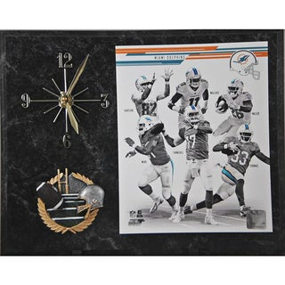 2013 Miami Dolphins Clock