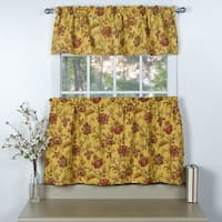 Norwich 3-piece Tiers and Valance Set
