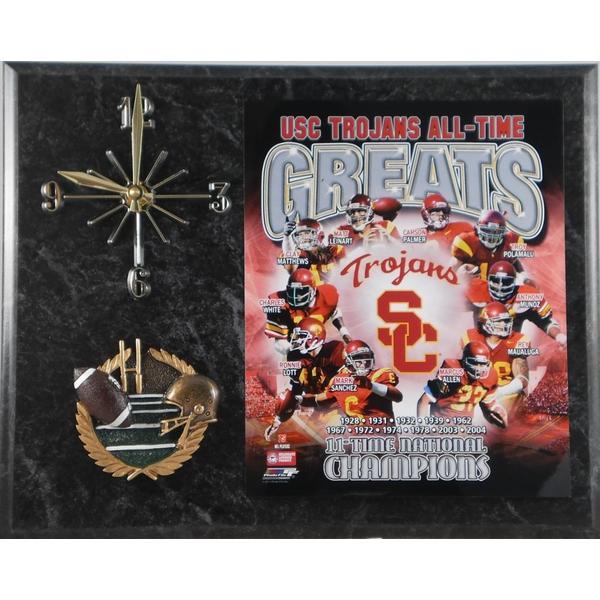 USC Trojans All Time Greats Clock