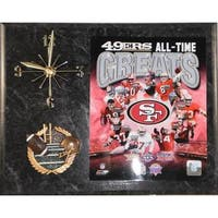 San Francisco 49ers All Time Greats Clock