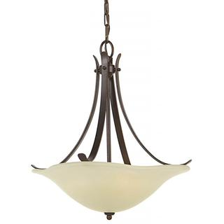 Morningside 3-light Grecian Bronze Pendant