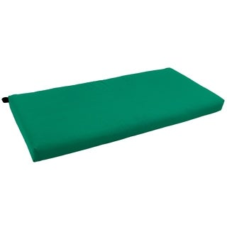 "Blazing Needles 42-inch Solid Twill Indoor Bench Cushion - 19"" x 42"""