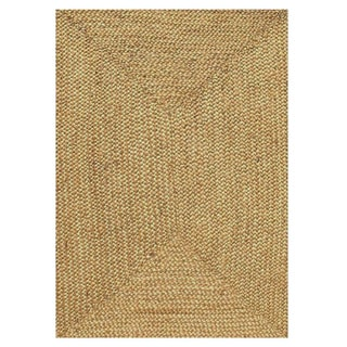 Handwoven Braided Jute Rug (9' x 12')