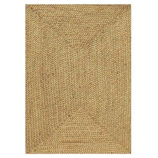 Handwoven Braided Jute Rug (9' x 12')