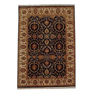 Hand-knotted Oriental Wool Rug (6' x 9')