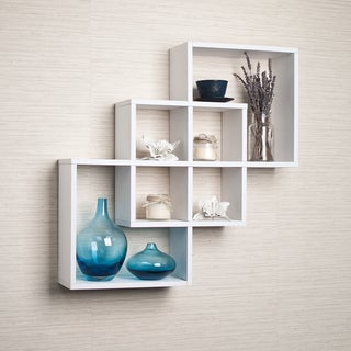 decorative shelves accent pieces shop the best brands overstockcom - Decorative Wall Shelves