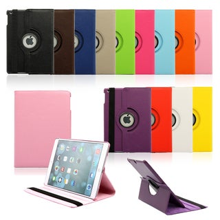 Gearonic Rotating PU Leather Case Cover for Apple iPad 5 Air