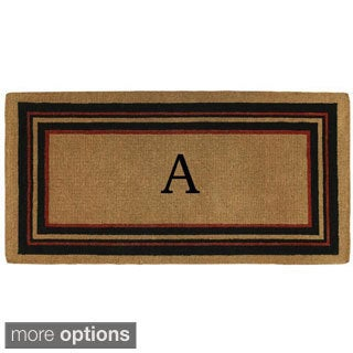 Esquire Extra-thick Monogrammed Doormat (3' x 6')