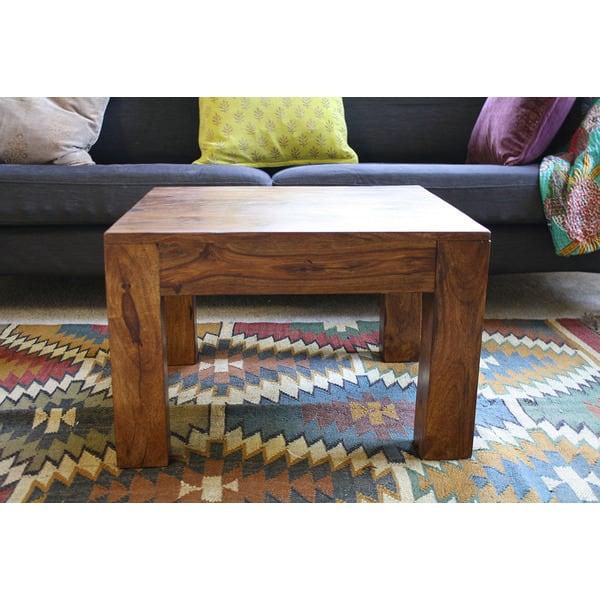 Handmade Cube Small Coffee Table 15 75 X 23 50