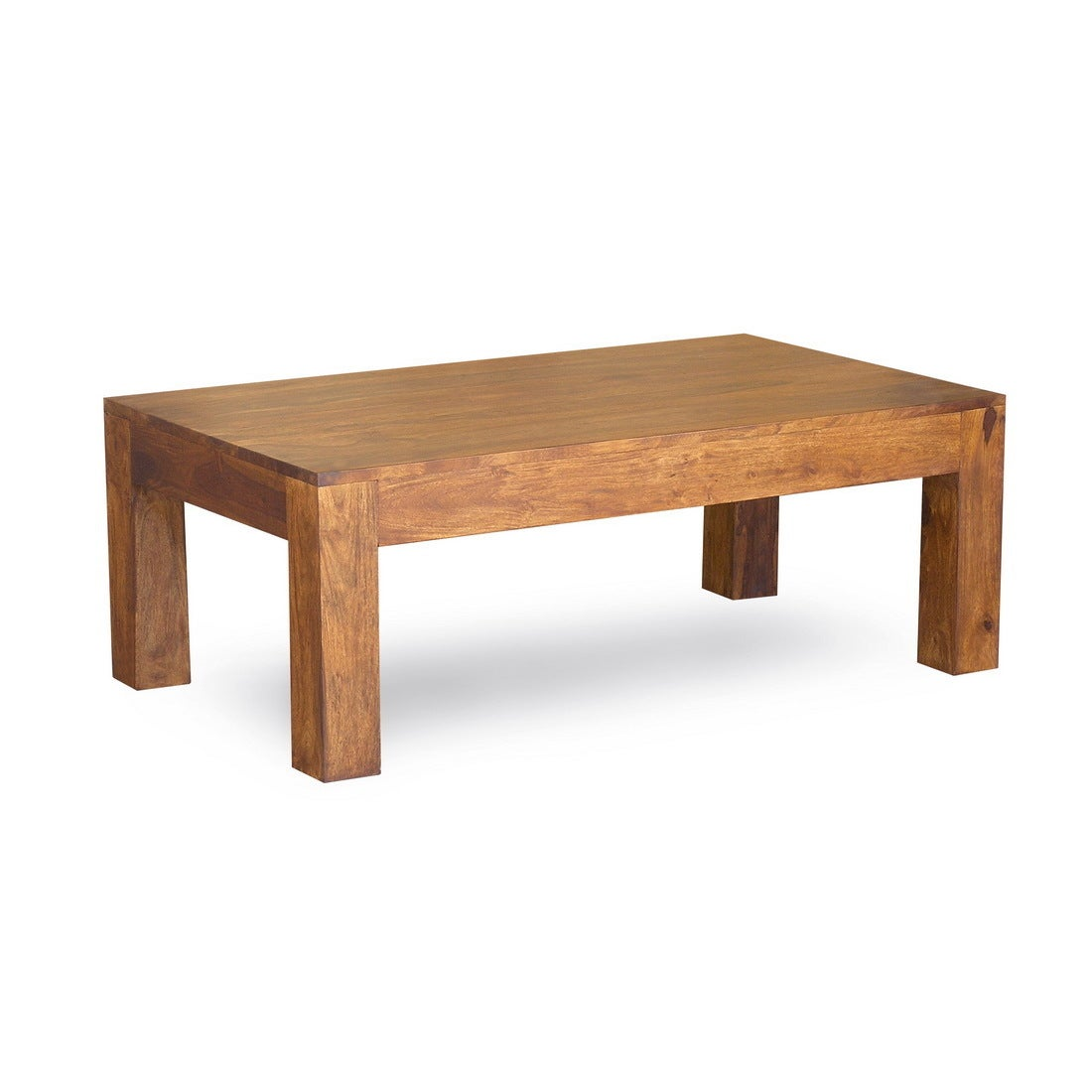 Timbergirl Handmade Cube Coffee Table (India) (Cube squar...