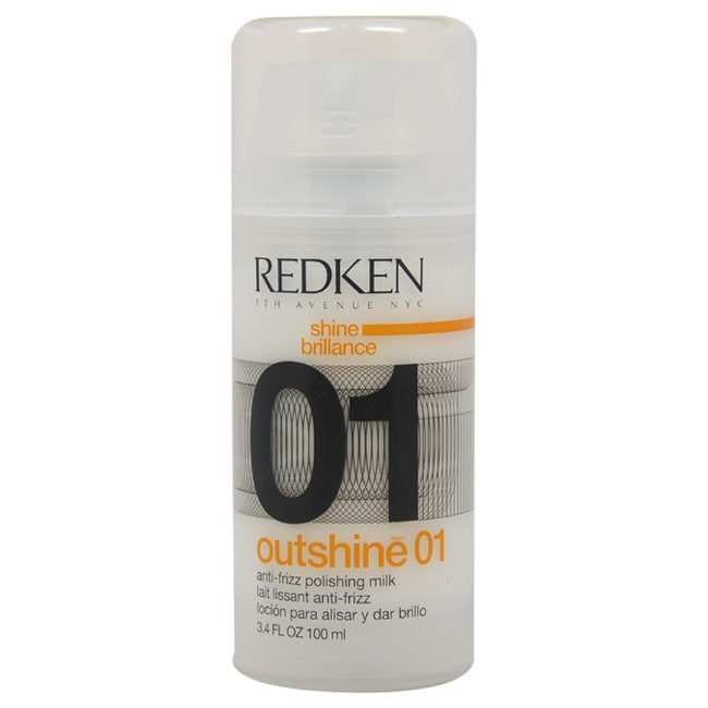 Redken Outshine 01 Anti-Frizz 3.4-ounce Polishing Milk, Y...