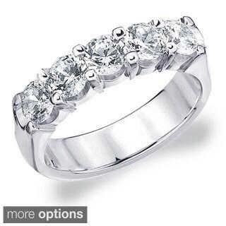 Amore 14k White or Yellow Gold 2ct TDW Diamond Ring (H-I, I1-I2)