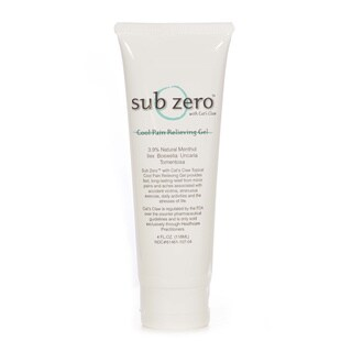Sub Zero Pain Relief Gel with Cat's Claw 4-ounce Tube