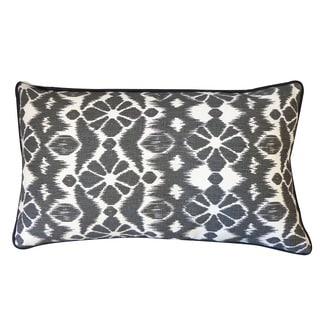 Black Trevol Throw Pillow