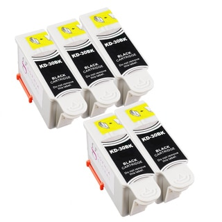 Sophia Global Compatible Ink Cartridge Replacement for Kodak 30 Black (Pack of 5)