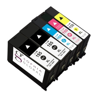 Sophia Global Compatible Ink Cartridge Replacement (2 Black/ 1 Cyan/ 1 Yellow/ 1 Magenta)