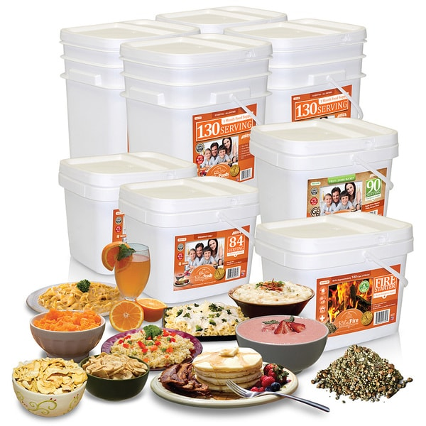 Relief Foods Essential 1 Month Family Combo Pack