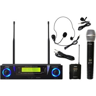 PylePro PDWM3500 Wireless Microphone System