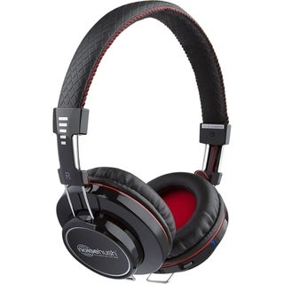 NoiseHush Bluetooth Headphones W/ Mic Black Via Ergoguys