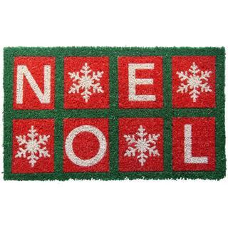 Handwoven Noel Coconut Fiber Doormat (1'6 x 2'6)