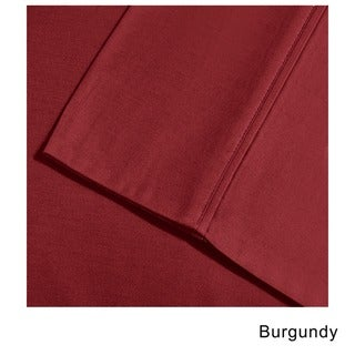Superior Cotton Blend 800 Thread Count Wrinkle-Resistant Solid Sheet Set