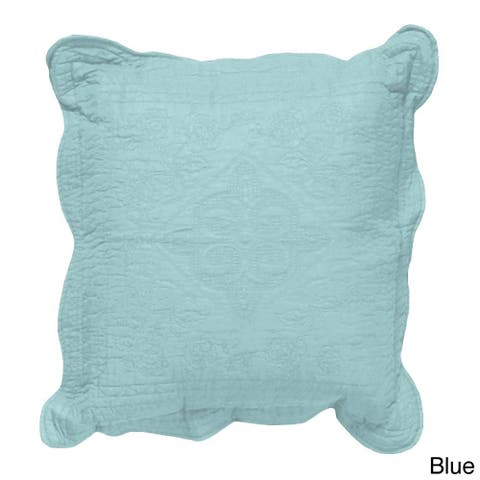 Grand Bazaar Quilted Pantile Throw Pillow