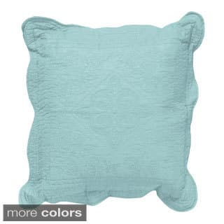 Grand Bazaar Quilted Pantile Throw Pillow (Option: Green)|https://ak1.ostkcdn.com/images/products/8581294/Pantile-Specialty-Pillow-14-x-14-P15854467.jpg?impolicy=medium