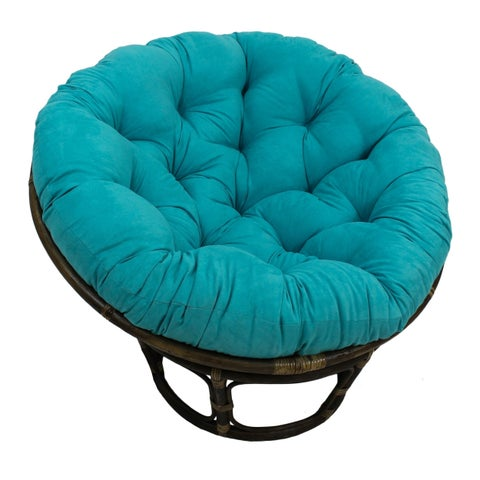 Blazing Needles Microsuede 44-inch Papasan Cushion