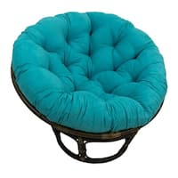 "Blazing Needles 44-inch Microsuede Papasan Cushion - 44"" x 44"""