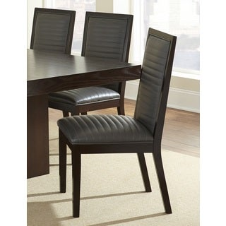 Greyson Living Alexa Espresso Dining Chair (Set of 2) - 40 inches high x 21 inches wide x 25 inches deep