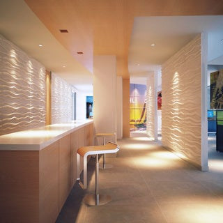 Paintable Waves 3D Wall Panels