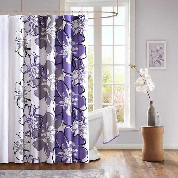 Mi Zone Sydney Microfiber Shower Curtain