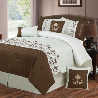 Windsor Home Leafy 7-piece Comforter Set