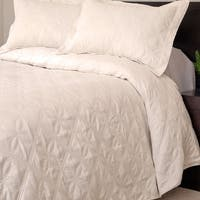 Windsor Home Andrea 3-piece Cream Quilt Set