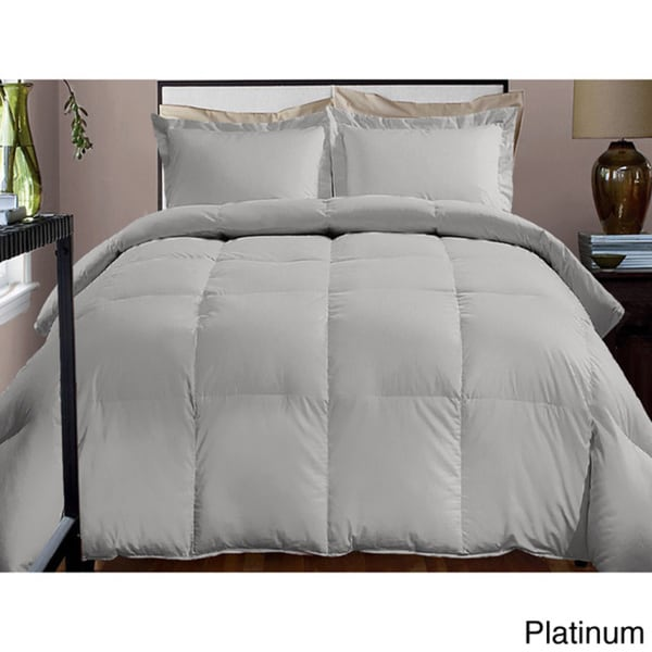 shop hotel grand 600 thread count down alternative comforter free shipping today overstock. Black Bedroom Furniture Sets. Home Design Ideas