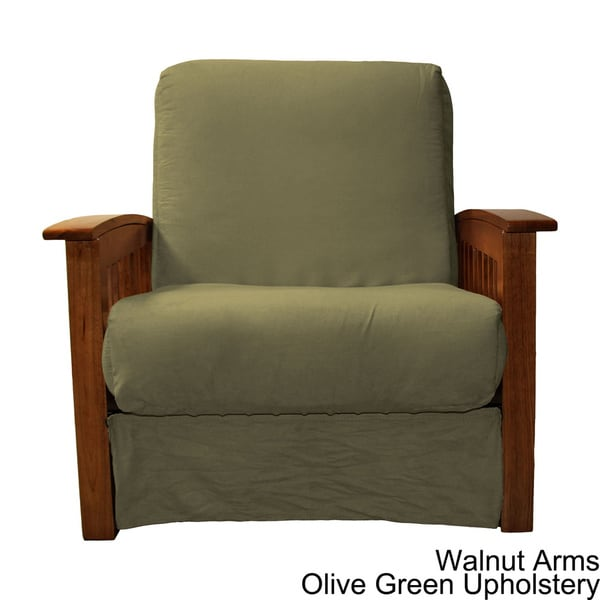 brendan perfect sit & sleep mission-style pillow top chair - free