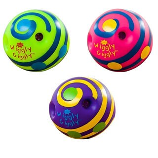 Toysmith Mini Wiggly Giggly Ball