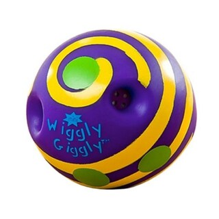 Toysmith Mini Wiggly Giggly Ball (3 options available)