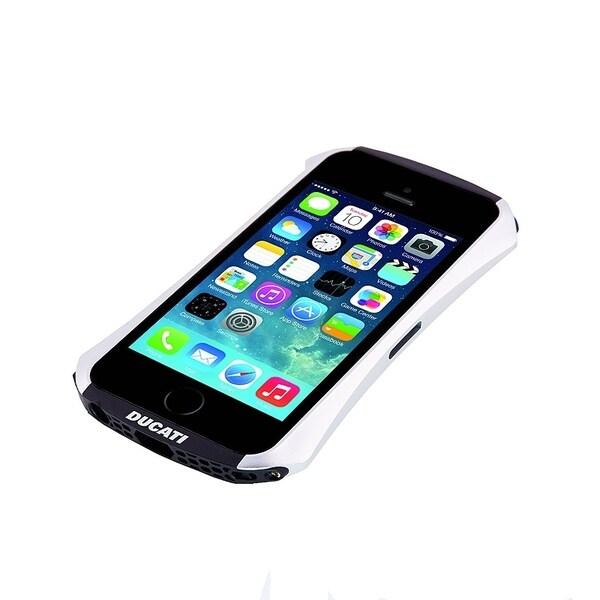 DRACO Silver Ventare A Aluminum Bumper Case for Apple® iPhone 5/ 5S