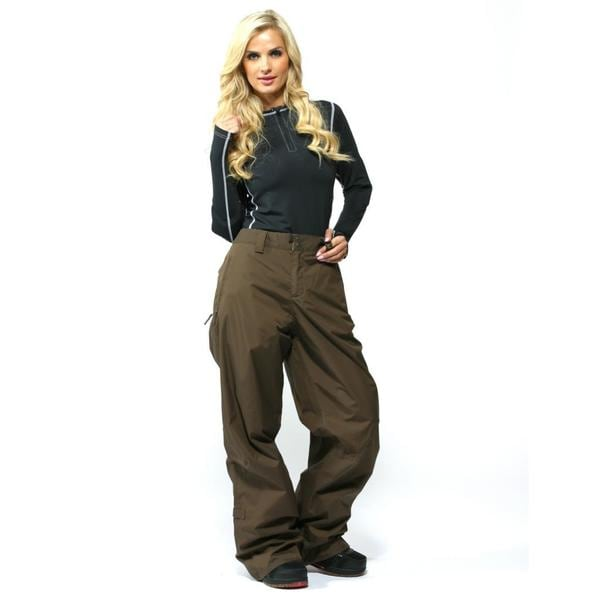 Burton Women's Roasted Brown Concert Ski Pants (Size XL)
