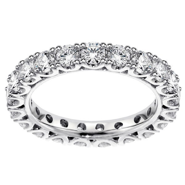 14k/ 18k Gold 2 1/10 - 2 2/5ct TDW Diamond Wedding Band (G-H, SI1-SI2)
