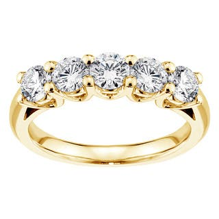 1 to 1.5 Carats Women\'s Wedding Bands - Bridal Wedding Rings For ...