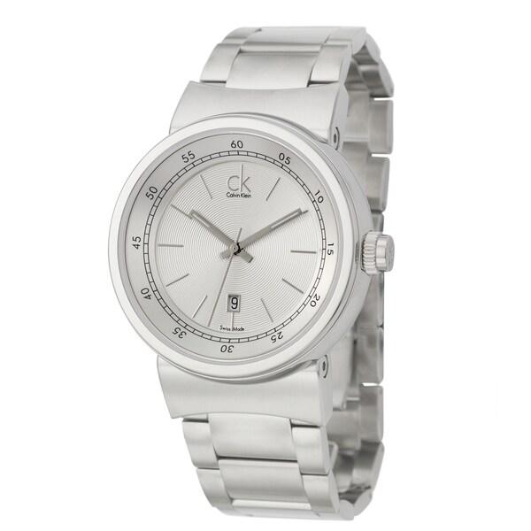 Calvin Klein Men's 'Celerity' Stainless Steel Swiss Quartz Watch