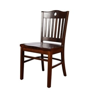 Peek-A-Boo Wood Dining Chair (Set of 2)